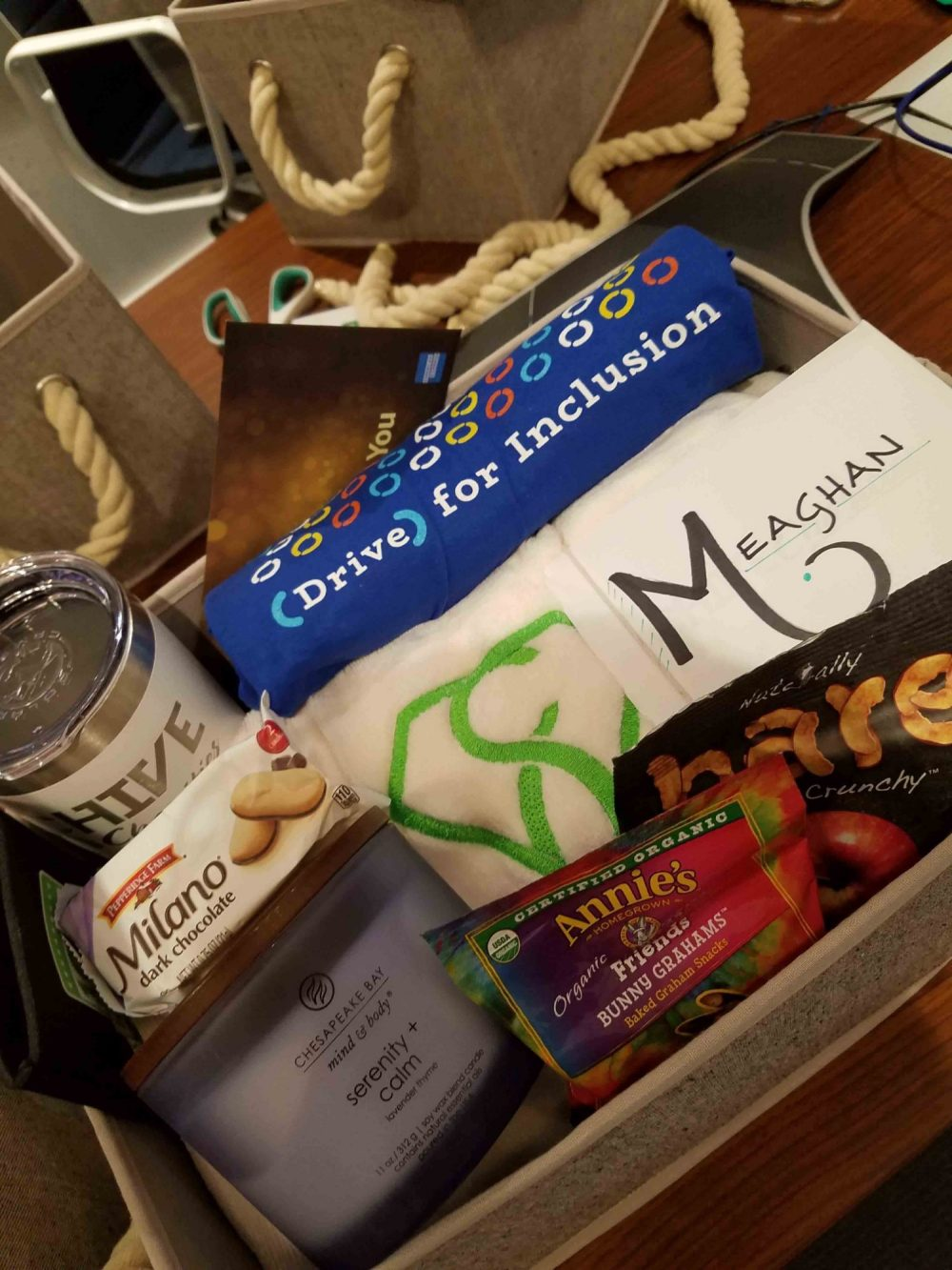 Caregiver Basket from BraunAbility and Chive Charities