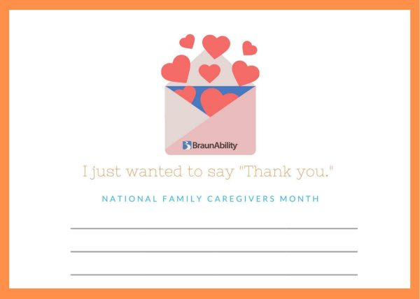 November is National Family Caregivers Month