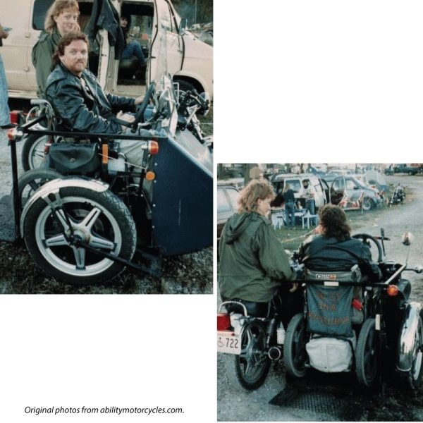 Wheelchair Motorcycle and Handicap Motorcycle Add-ons