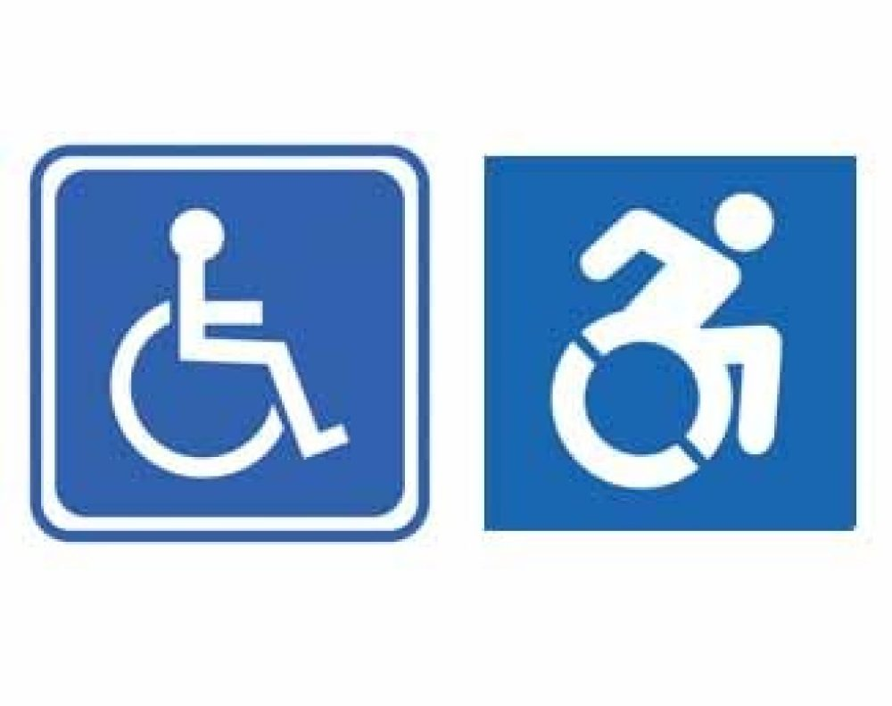 the history of the handicap sign