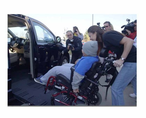 Wheelchair Van Donation Changes Kentucky Family's Lives