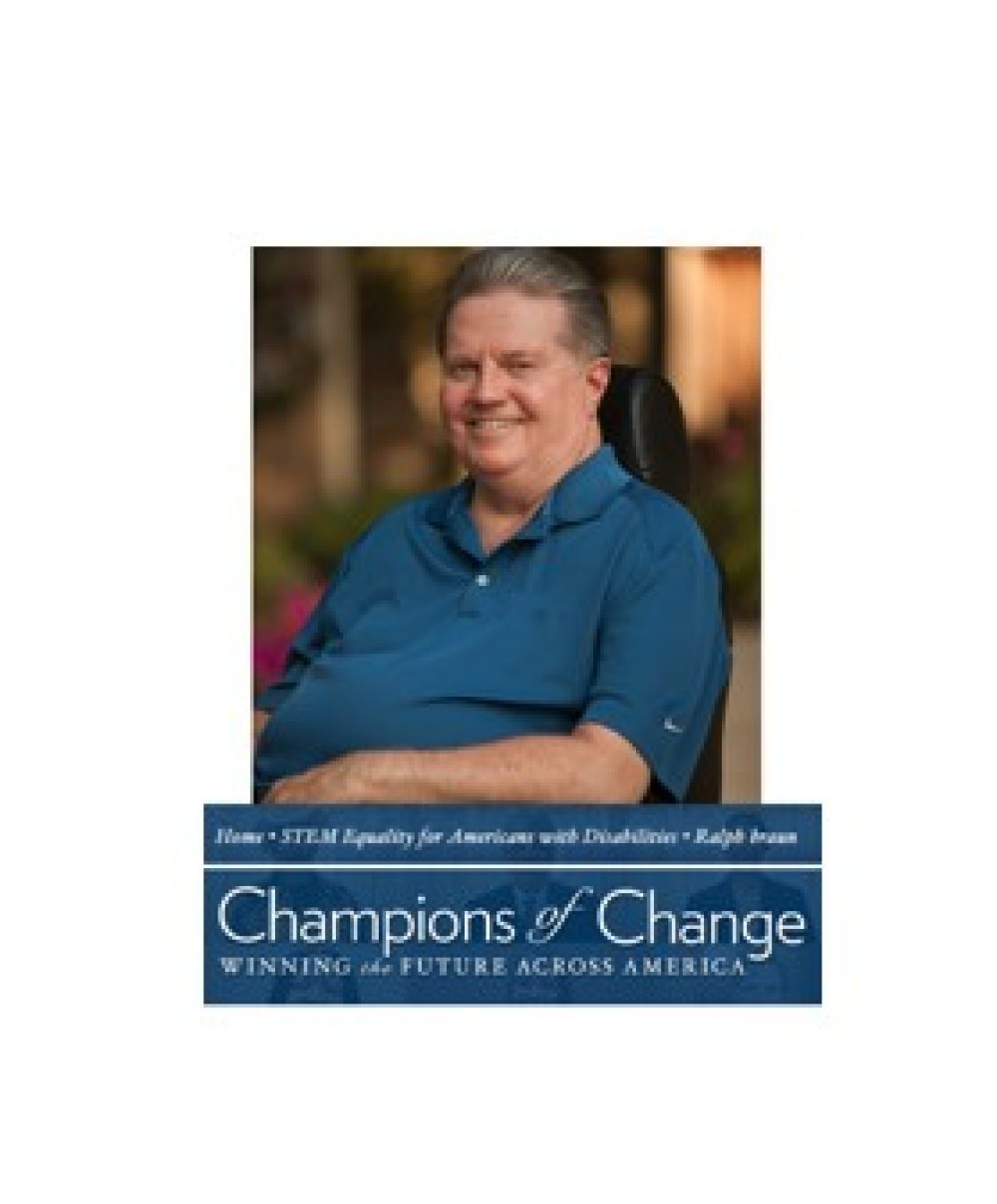 Ralph Braun Receives White House Champion of Change Distinction