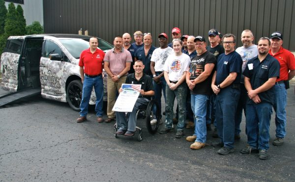 Wounded Warrior Receives Camo Wheels Before Memorial Day