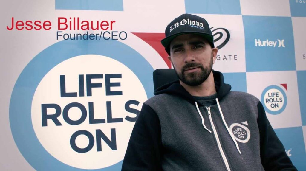Jesse Billauer LIfe Rolls On Founder