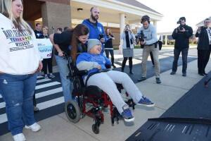 Kentucky boy wheelchair van donation BraunAbility