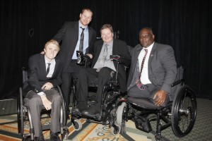 Four honorees were recognized with a Courage Award from the Tempe Sports Authority Foundation