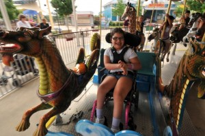 Morgan's Wonderland Carousel, an accessible amusement park in San Antonio