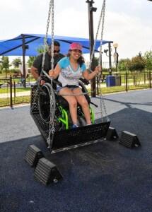 Morgan's Wonderland Swing, an accessible amusement park in San Antonio