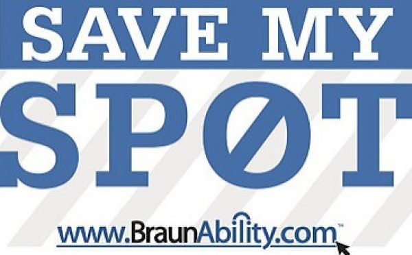 Handicap Parking Campaign - Save My Spot