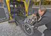 A photo of an accessible cab soon coming to New York