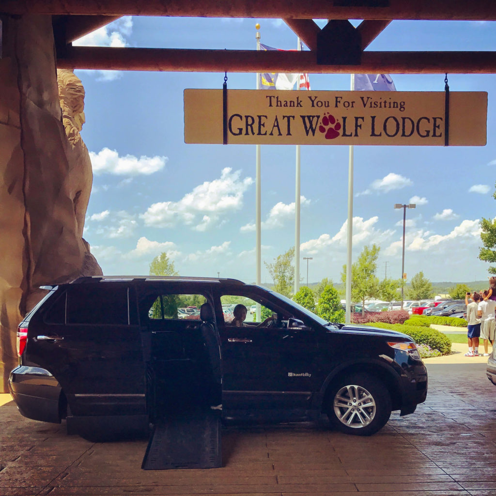 Great Wolf Lodge and a BraunAbility MXV make the perfect accessible road trip for veterans, wheelchair users.