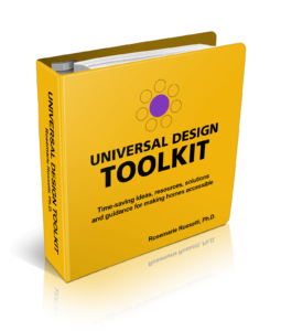 make a home wheelchair accessible: the universal design toolkit