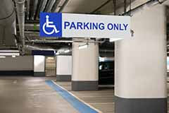 accessible parking space Save My Spot BraunAbility
