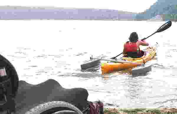 wheelchair vans and canoes adaptive paddling