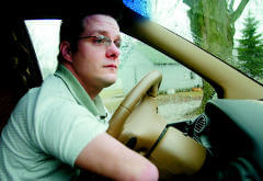 Brett Eastburn drives hundreds of miles every year for his motivational speeches.