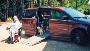 restoring freedom in travel wheelchair van