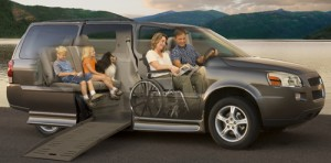 Buying a wheelchair van BraunAbility conversion van