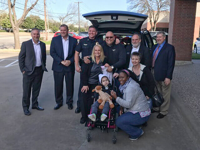 United Access of Carrollton, Texas donates a van conversion to a father of a special needs daughter