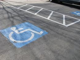 wheelchair van parking