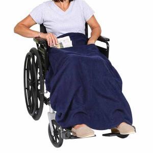 wheelchair user for christmas blanket gift idea