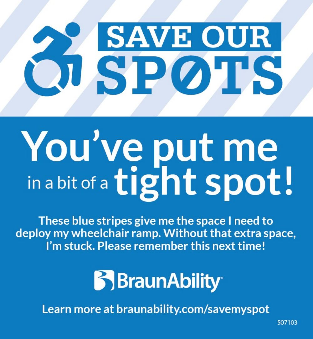 Save Our Spots Post It