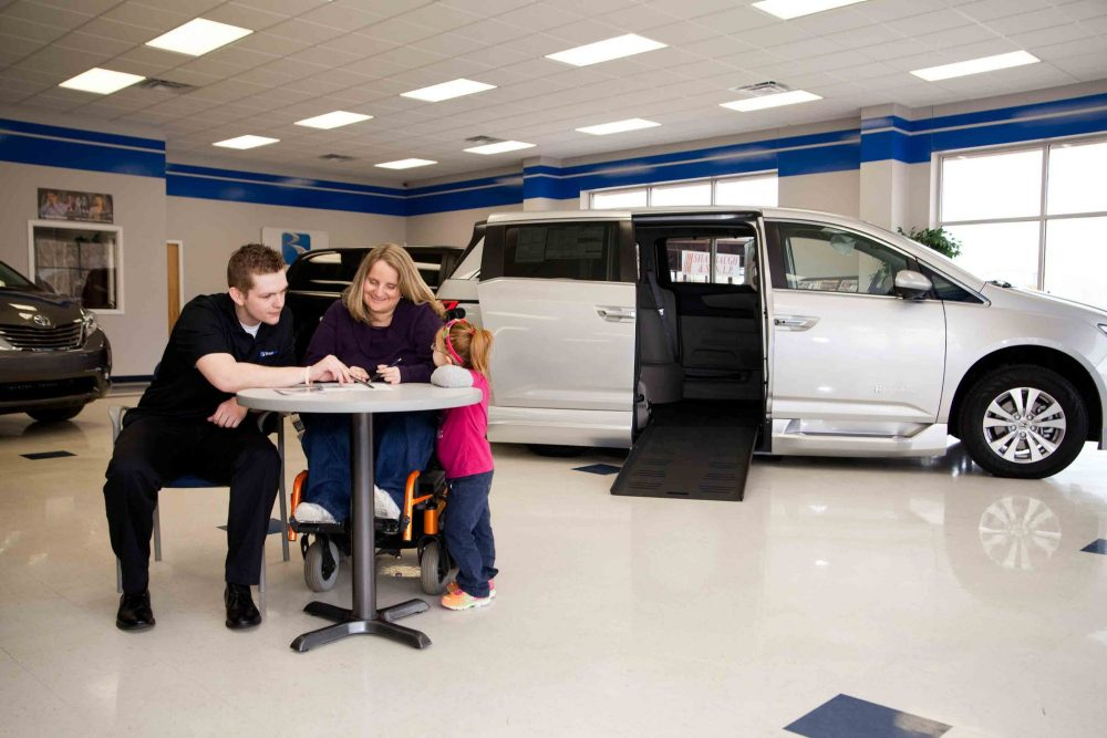 BraunAbility Dealer Showroom