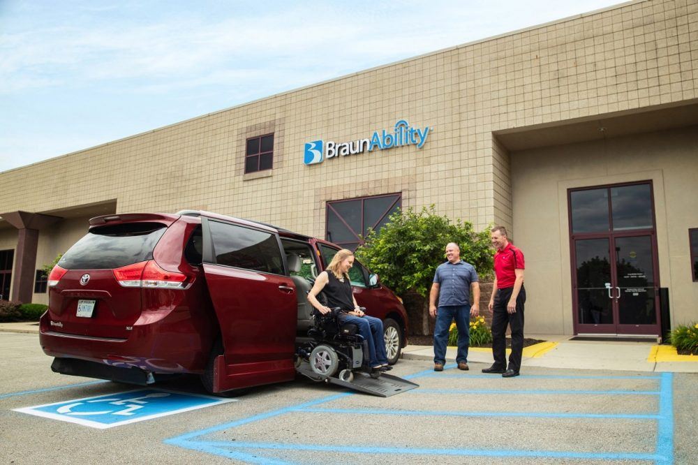 handicap van trade in