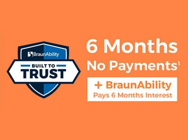 BraunAbility 2020 Payment Relief Program