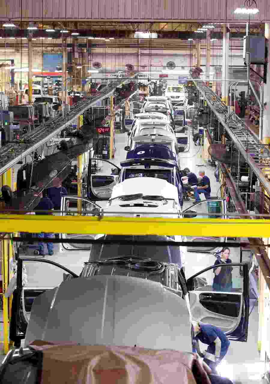 The Ford BraunAbility factory floor was photographed  July 21, 2015.