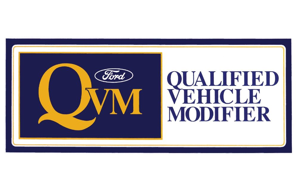 Ford Motor Company – Qualified Vehicle Modifier
