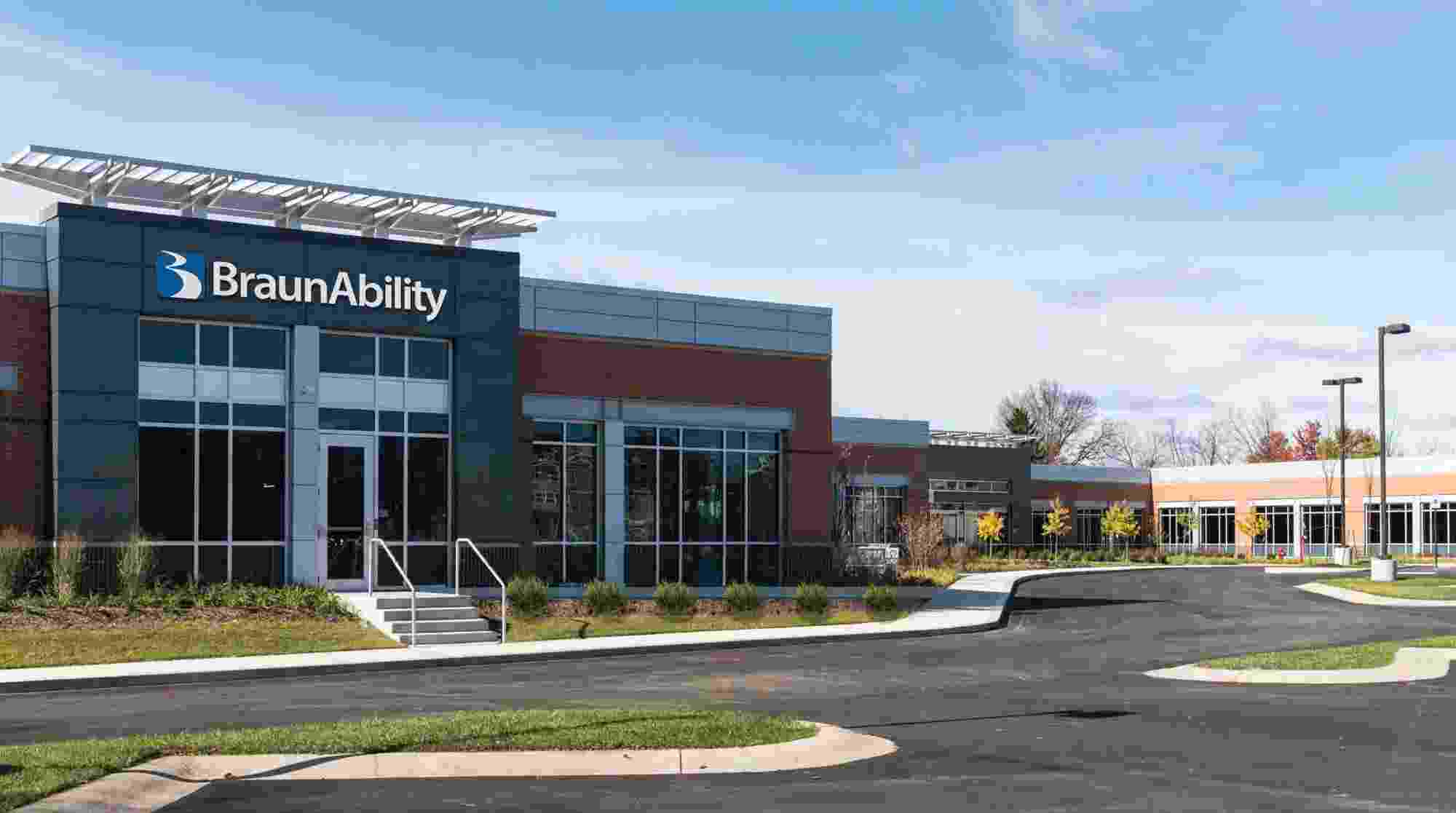BraunAbility Corporate Headquarters Camel Office Rendering