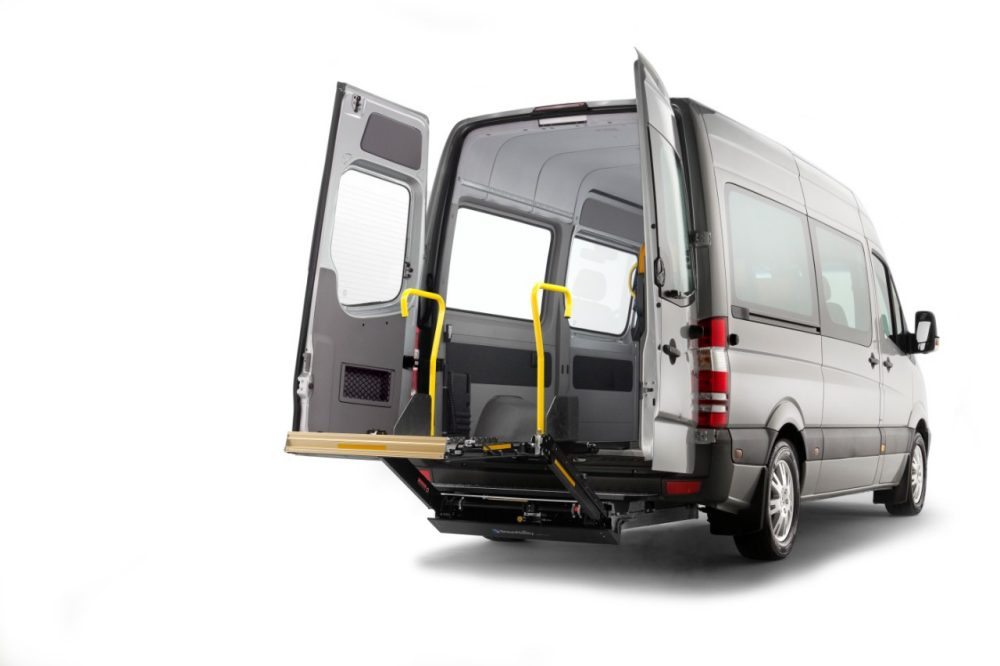 The BraunAbility A-Series lift was developed by ­Autoadapt for the European public transport market. Key focus lies on quick installation, low weight, reliability and ease of service.