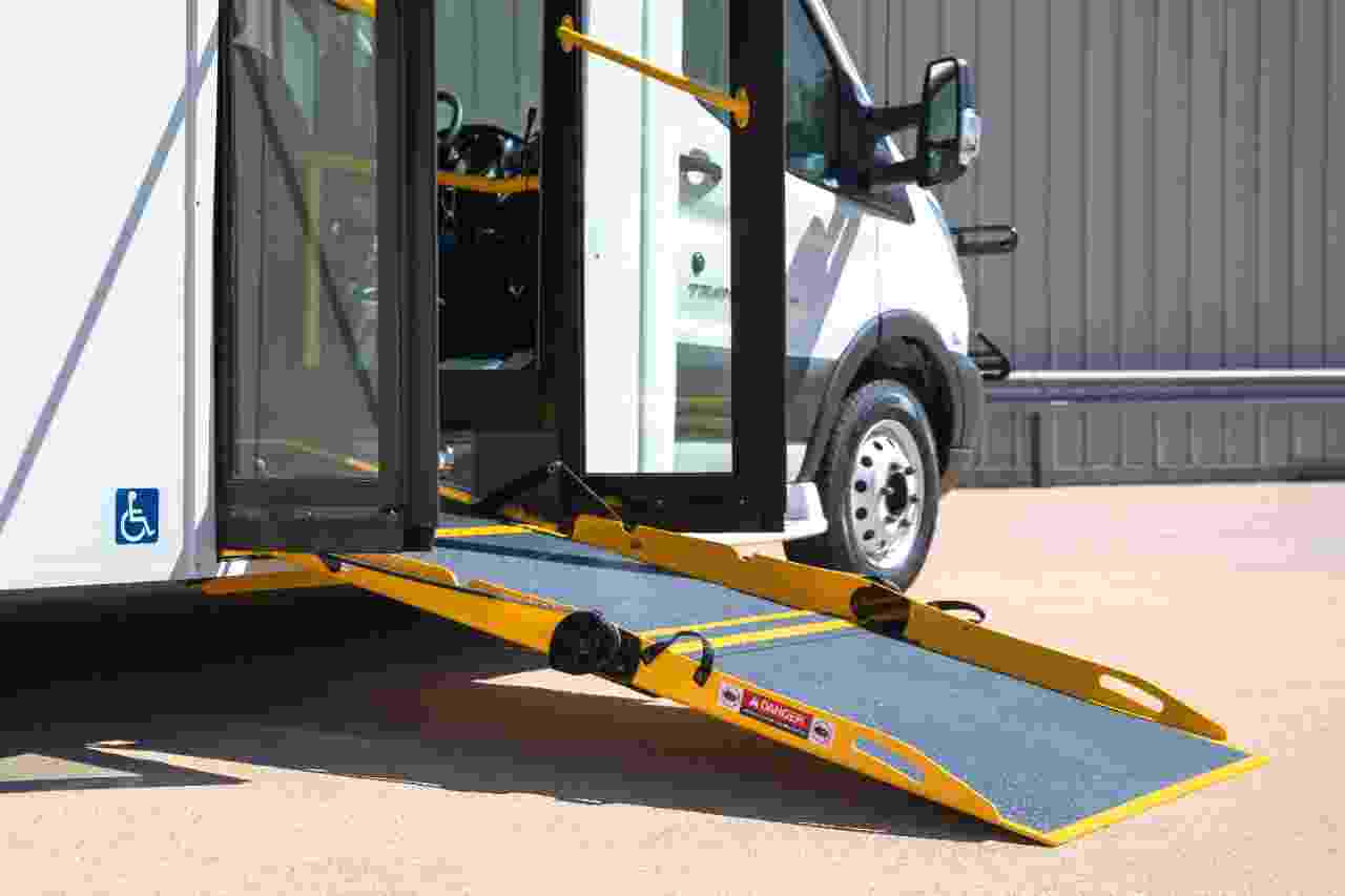 bus wheelchair lift