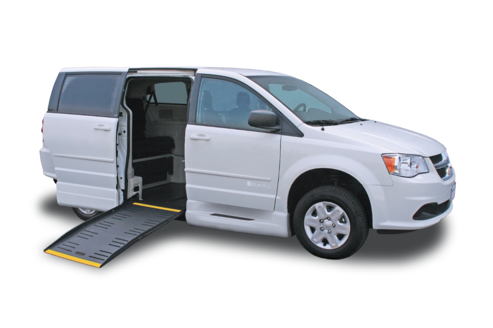 commercial wheelchair mobility minivan
