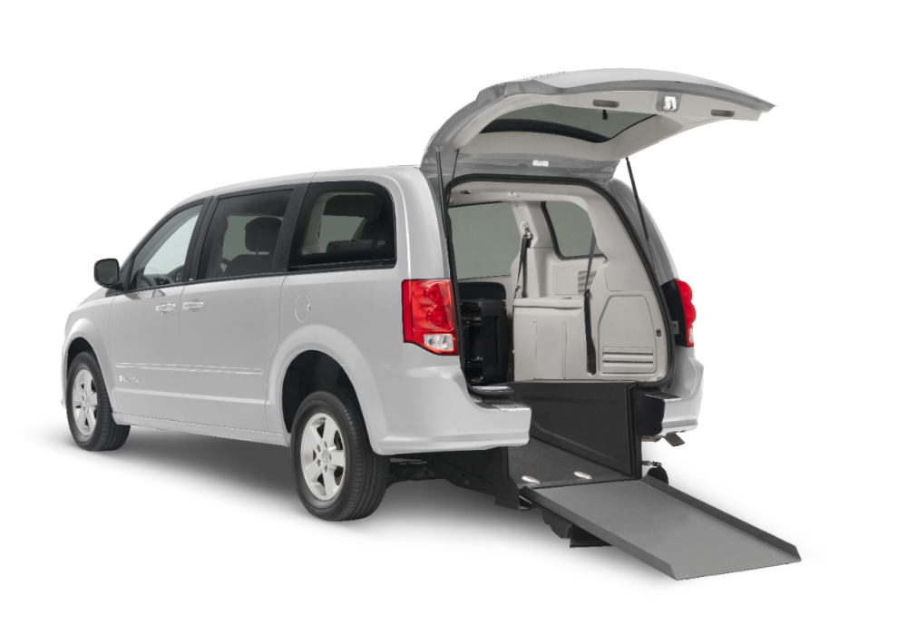 2016 Dodge Grand Caravan SXT with New Rear-Entry Conversion