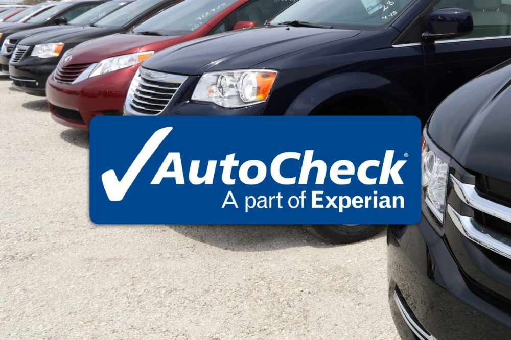 used handicap minivans for sale come with an AutoCheck report