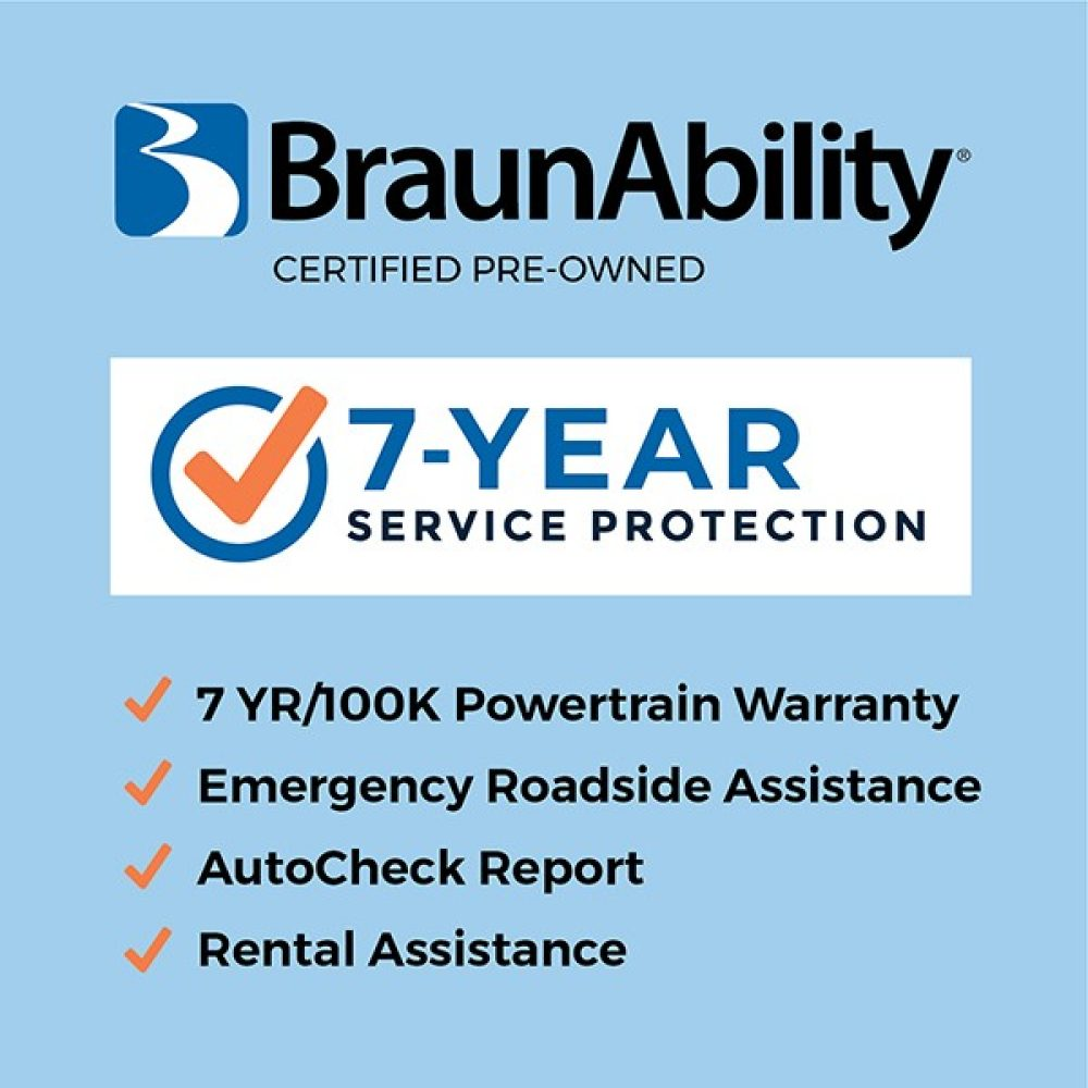 BraunAbility Certified Pre-Owned & Year Service Protection