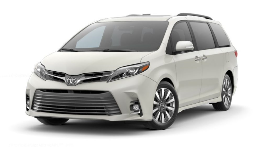 Braunability Manual Rear  Entry Toyota Sienna