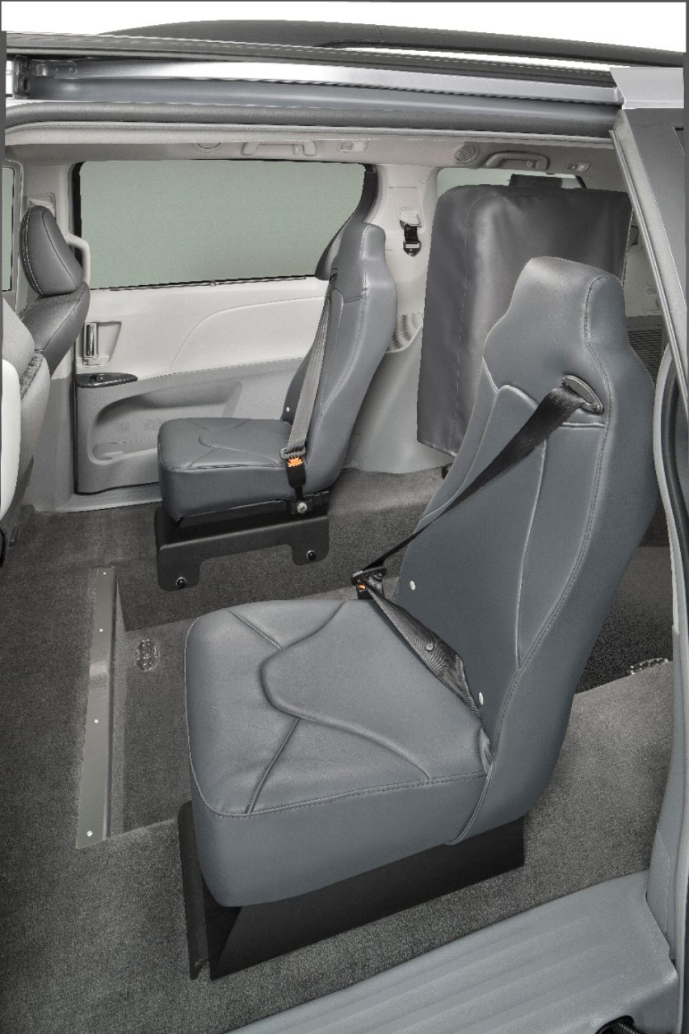Rear-Entry Van second row seats