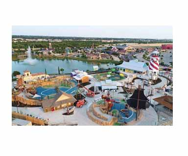 Aerial view of Morgan's Wonderland