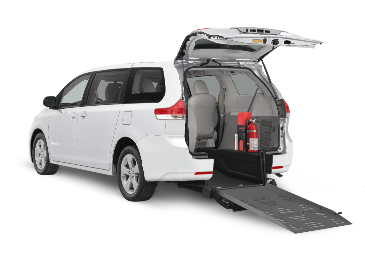 Commercial Rear Entry Toyota Wheelchair Minivan