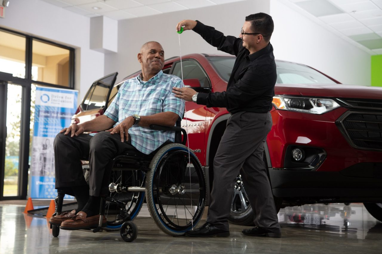Mobility Consultation at a braunability dealership