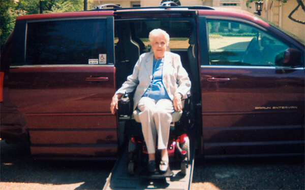 restoring freedom for BraunAbility customer|Doris