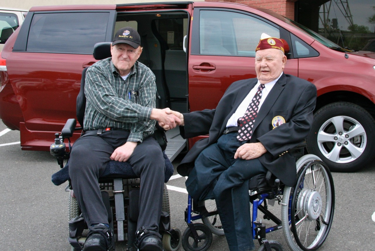 Veteran Donates Wheelchair Van to Fellow Veteran
